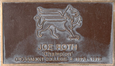 Grossmont College Plaque